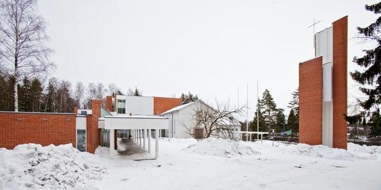 Kuva toimipisteestä: Hyvän Paimenen kirkko